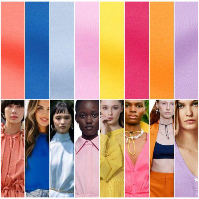 Colores de moda verano 2022