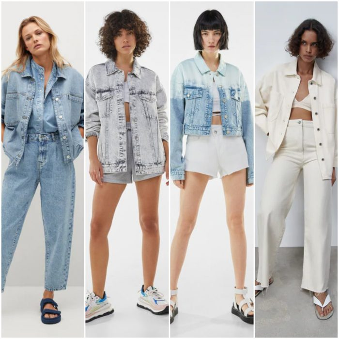 campera jeans para mujer verano 2022 Argentina