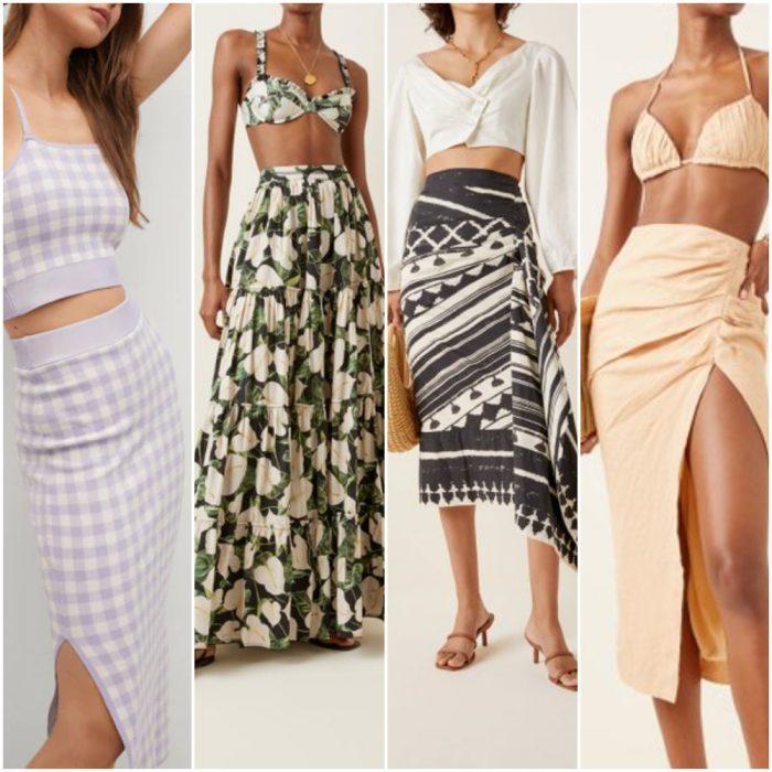 faldas para mujer verano 2022 Argentina