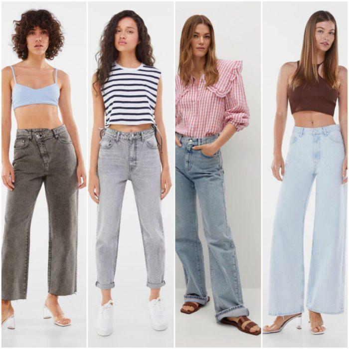 jeans mujer de moda verano 2022 Argentina