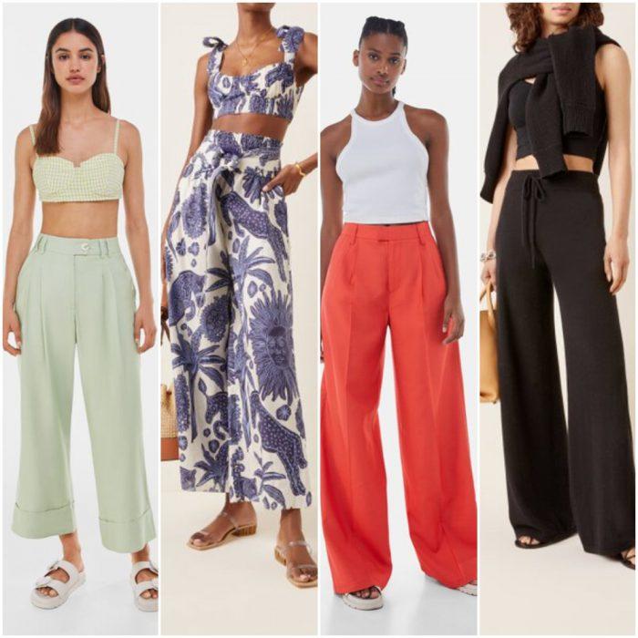 pantalon mujer de moda verano 2022 Argentina