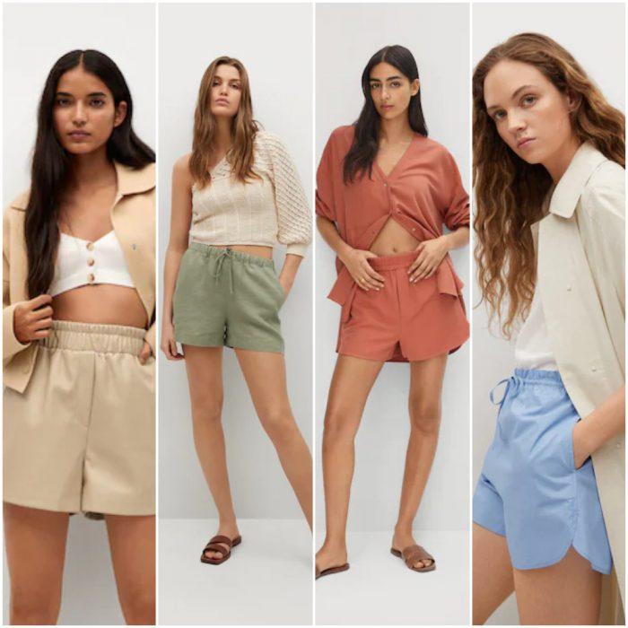 short mujer de moda verano 2022 Argentina