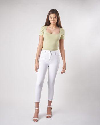 Jeans blanco verano 2022 Vertu Jeans