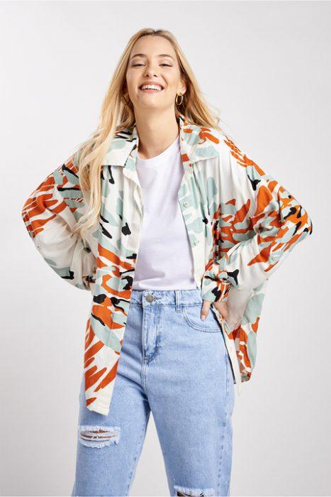 camisas estampadas mujer Sans Doute verano 2022