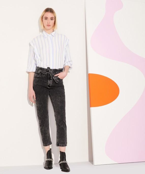 jeans con lazo kosiuko verano 2022