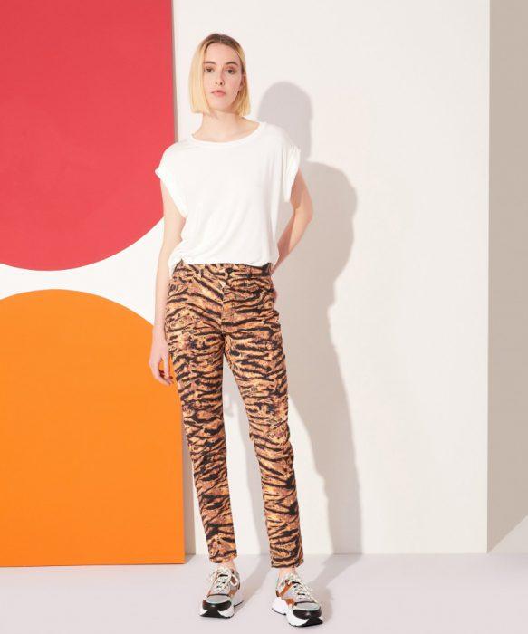 pantalon animal print kosiuko verano 2022