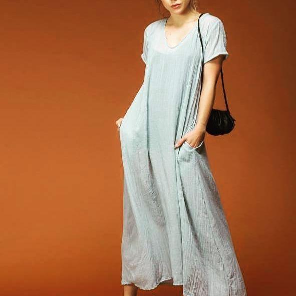 vestido tunica Pura Pampa verano 2022