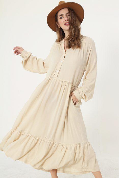 vestido tunica Sans Doute verano 2022