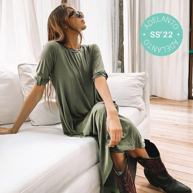 vestido tunica recto arizona verano 2021