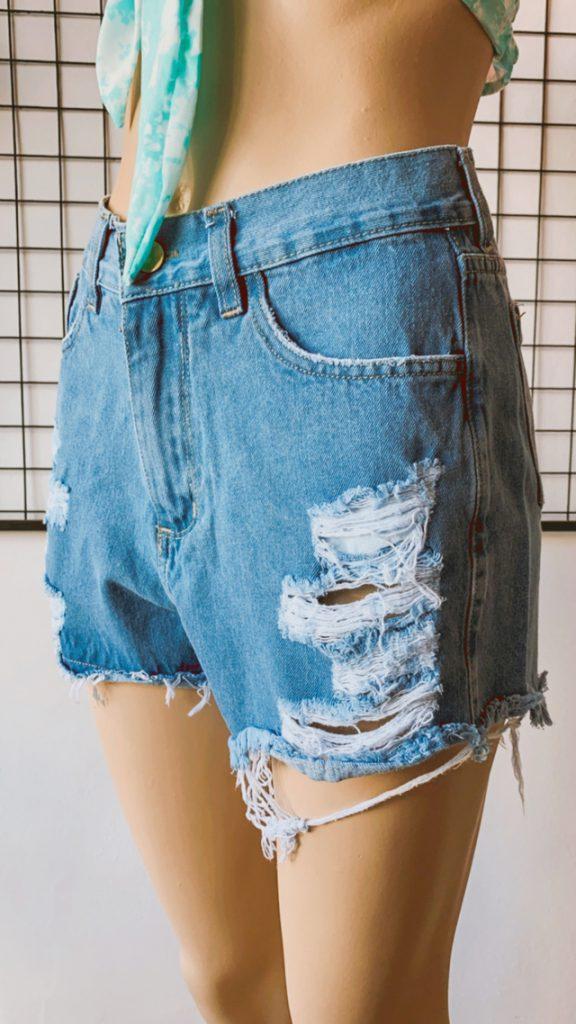 Short de jeans rotos verano 2022 Dorcastar