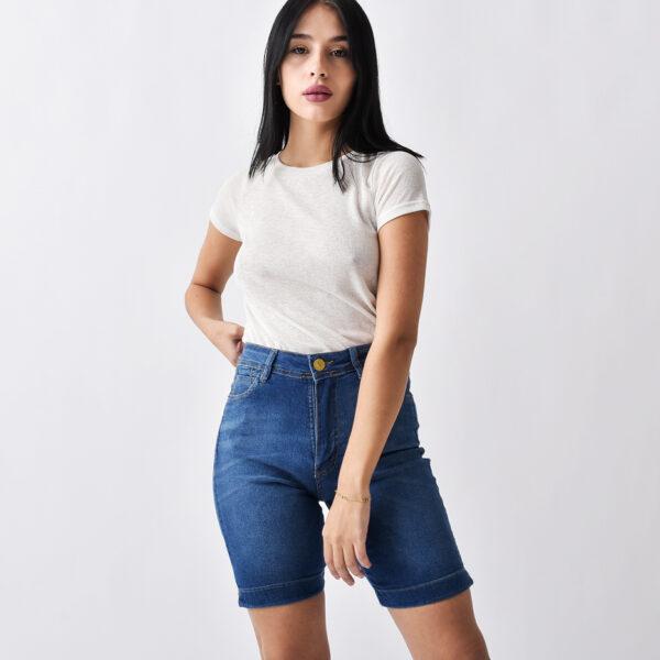 bermuda de jeans para mujer verano 2022 Jeans Ecole