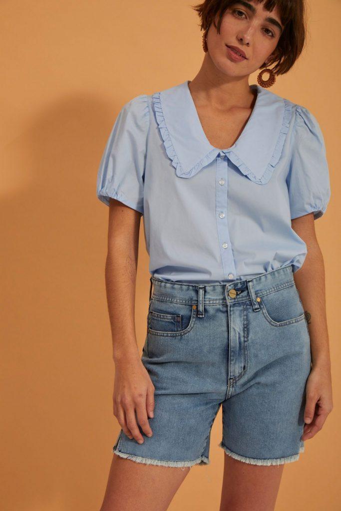 bermuda jeans mujer verano 2022 Estancias Chiripa