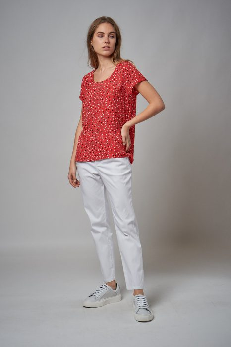 blusa casual estampada verano 2022