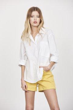 camisa con short amarillo verano 2022 Zhoue