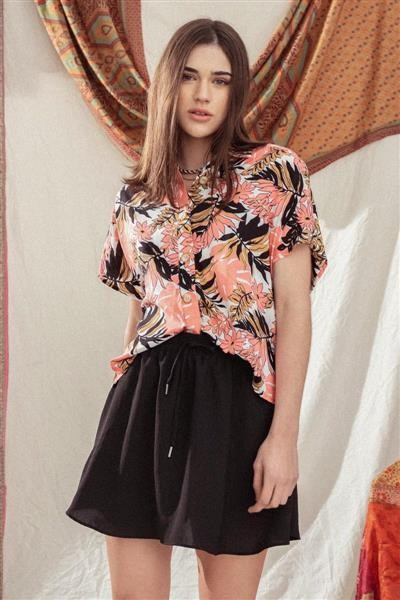 falda corta verano 2022 Santa bohemia