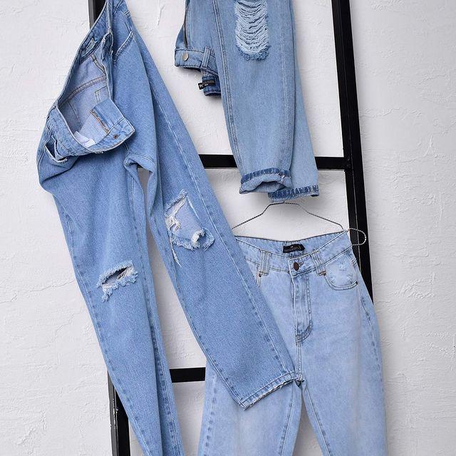 jeans con roturas y gastoados Mine Jeans verano 2022