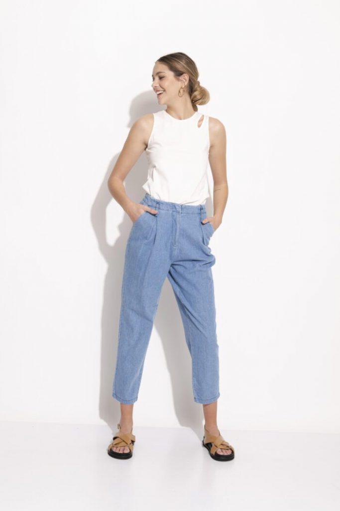 jeans cropped verano 2022 Silenzio