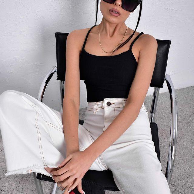 oxford blanco Mine Jeans verano 2022