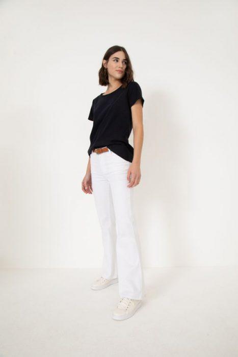 pantalon blanco verano 2022 Yagmour