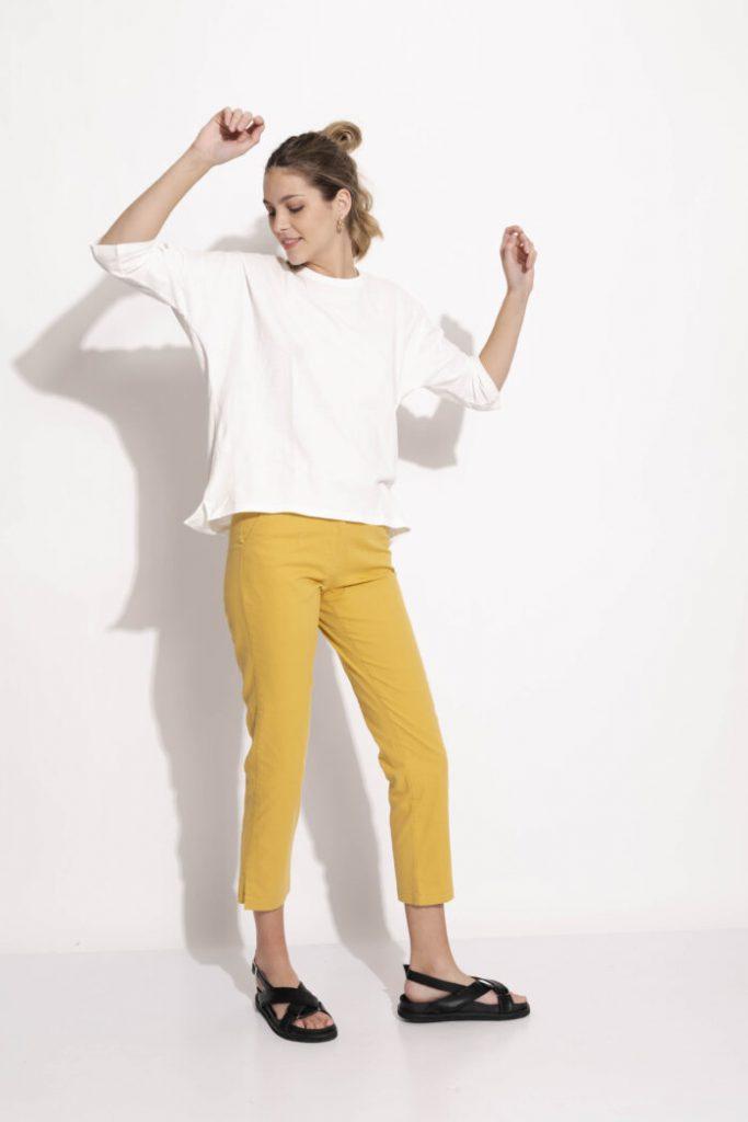 pantalones cropped verano 2022 Silenzio