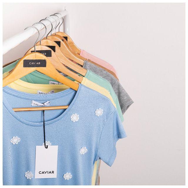 remeras mangas cortas Caviar ropa coleccion primavera verano 2022