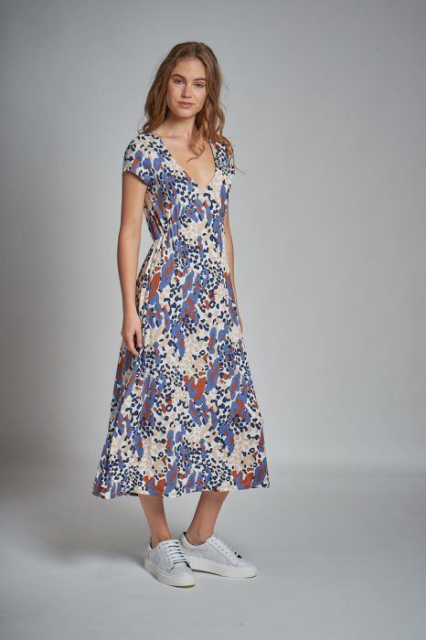 vestido casual largo kill verano 2022