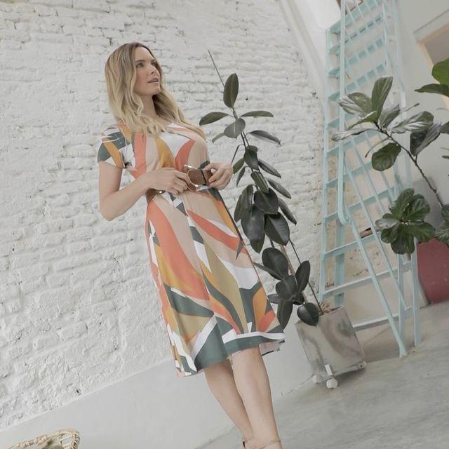 vestido estampado para senoras verano 2022 Vulpes indumentaria