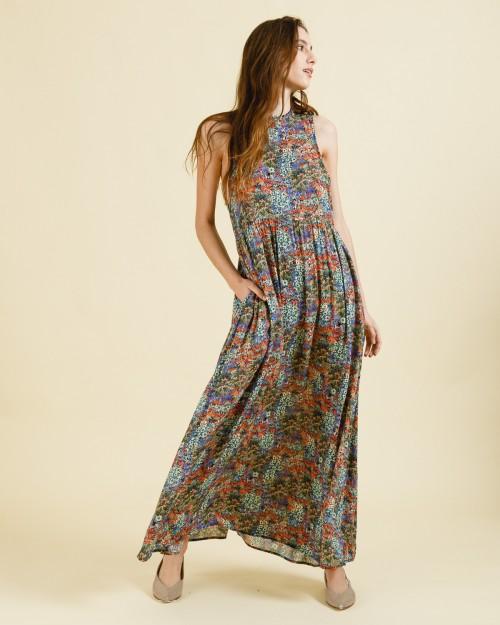vestido largo casual wanama verano 2022