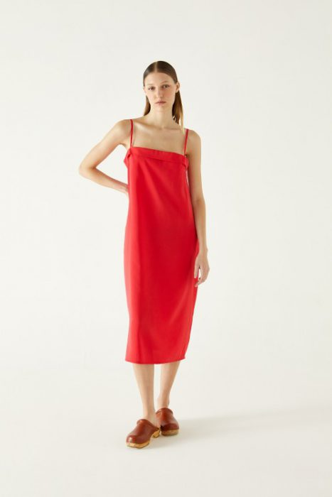vestido recto verano 2021