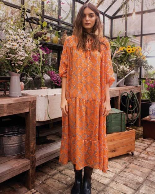 vestido tunica largo wanama verano 2022