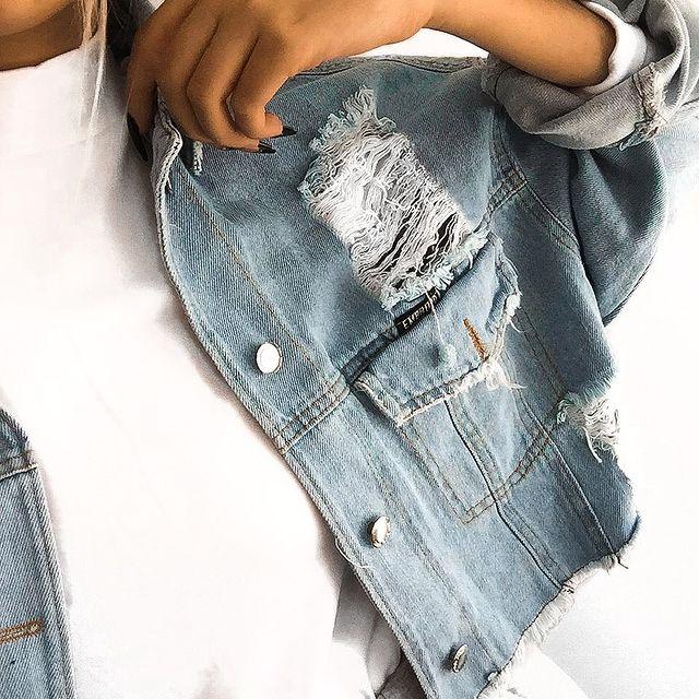 campera de jeans verano 2022 Embrujo Jeans