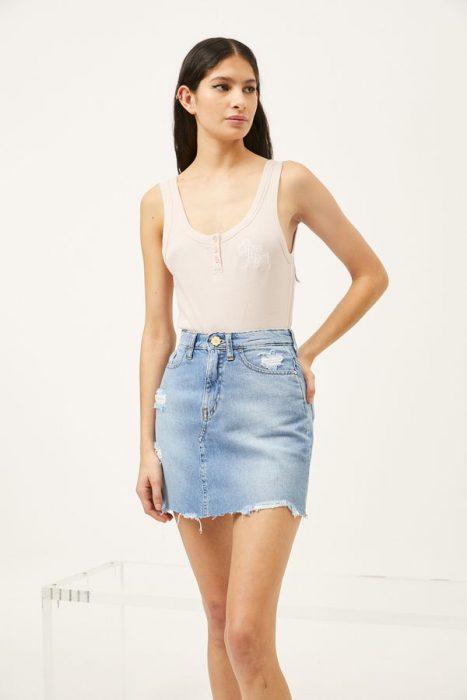 falda jeans ginebra verano 2022