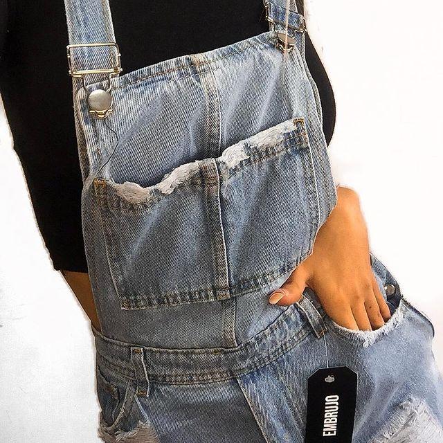 jardinero denim verano 2022 Embrujo Jeans
