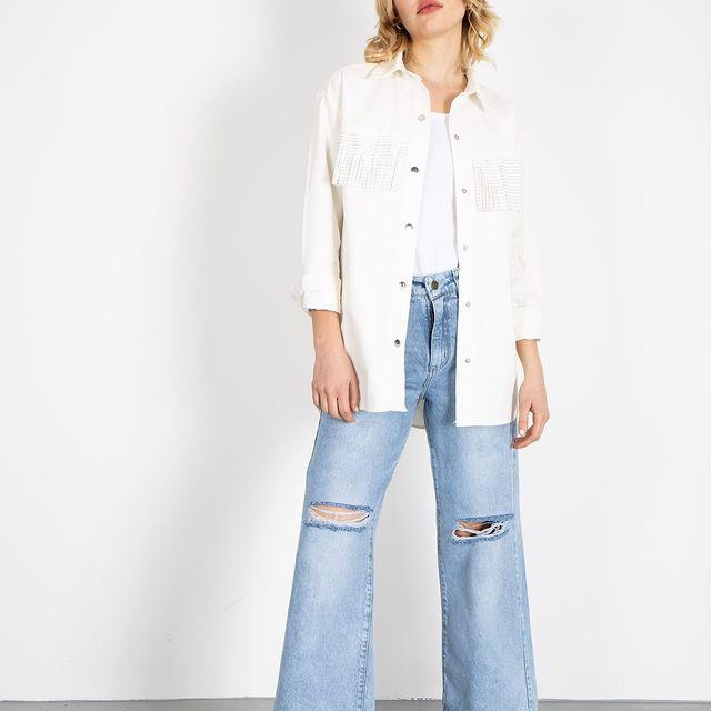 jeans con rotura verano 2022 Bora Jeans