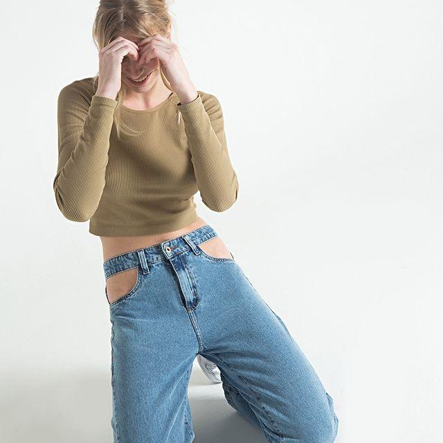jeans recortados verano 2022 Striven
