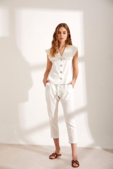look blanco comodo millie verano 2022