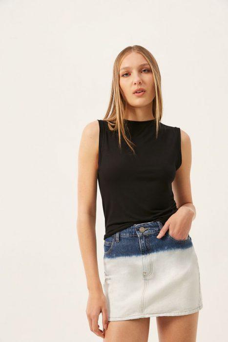 minifalda jeans ginebra verano 2022