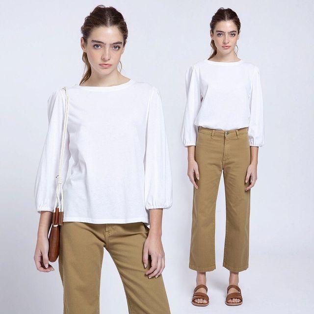pantalon gabardina verano 2022 de Awada