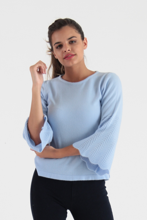 sweater mangas acampanadas tejido vanlon verano 2022