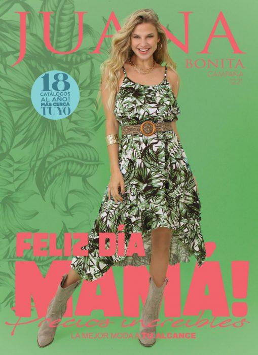vestido corto Juana bonita verano 2022