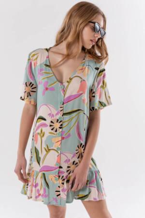 vestido fibrana juvenil marca materia verano 2021