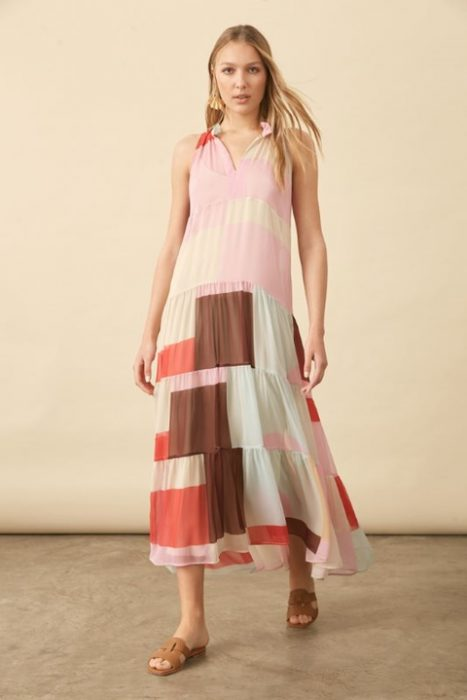 vestido largo casual verano 2022 Carmela Achaval
