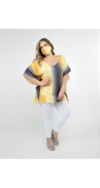 blusa mangas cortas lecol verano 2022