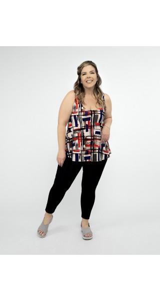 blusa muscuosa estampada talles grandes lecol verano 2022