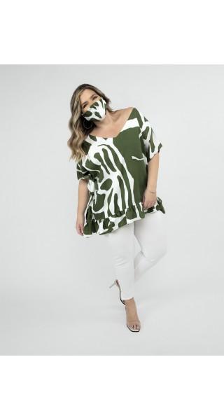 blusas mangas cortas talles grandes lecol verano 2022
